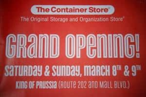 Read more about the article Reasons Not to Shop at the New KOP Container Store (Yet)