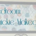 2 Hour Bedroom Quickie Makeover