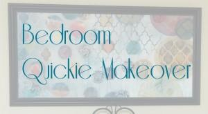 Read more about the article 2 Hour Bedroom Quickie Makeover