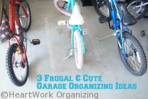 Read more about the article 3 Frugal & Cute Tips for Garage Organizing