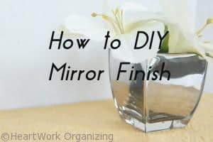 Read more about the article Shiny Things: Rust-Oleum Mirror Finish & Giveaway
