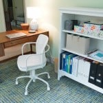 Another Home Office Makeover (Green and Blue)