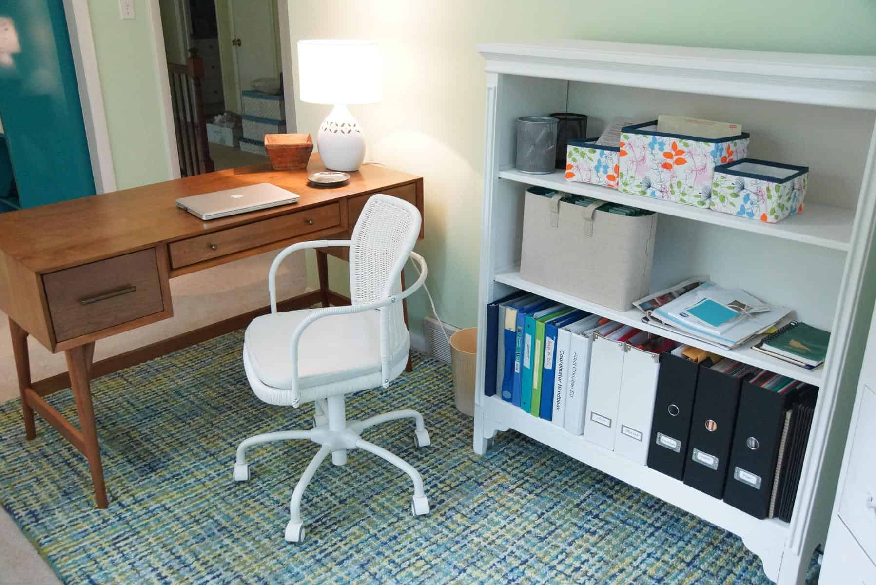 Desk Anchors Home Office Makeover