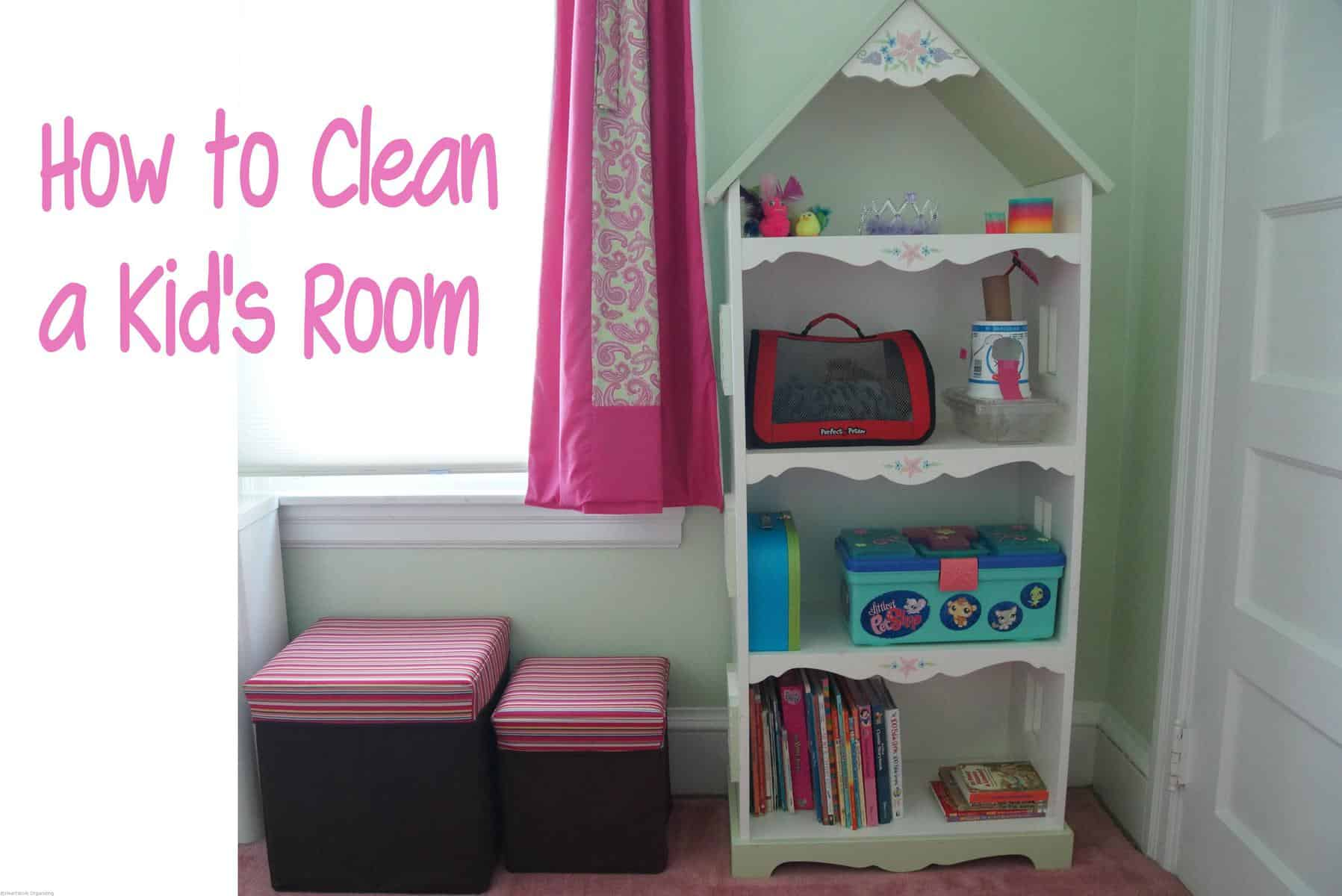 cleaning a kid 39 s room organizing. Black Bedroom Furniture Sets. Home Design Ideas