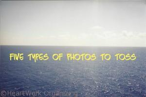 Read more about the article The Five Types of Photos to Toss