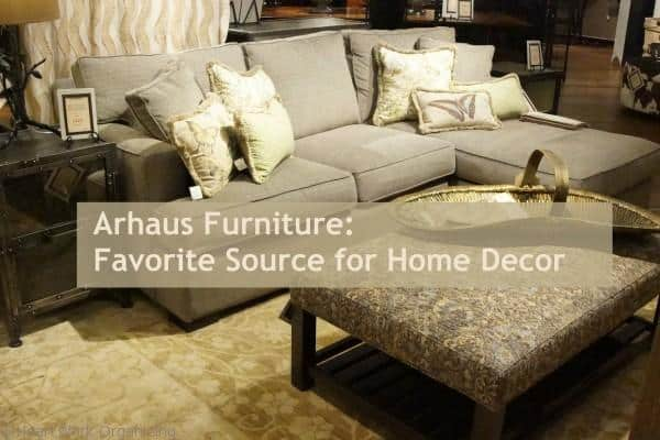 Arhaus Decorating Furniture Title