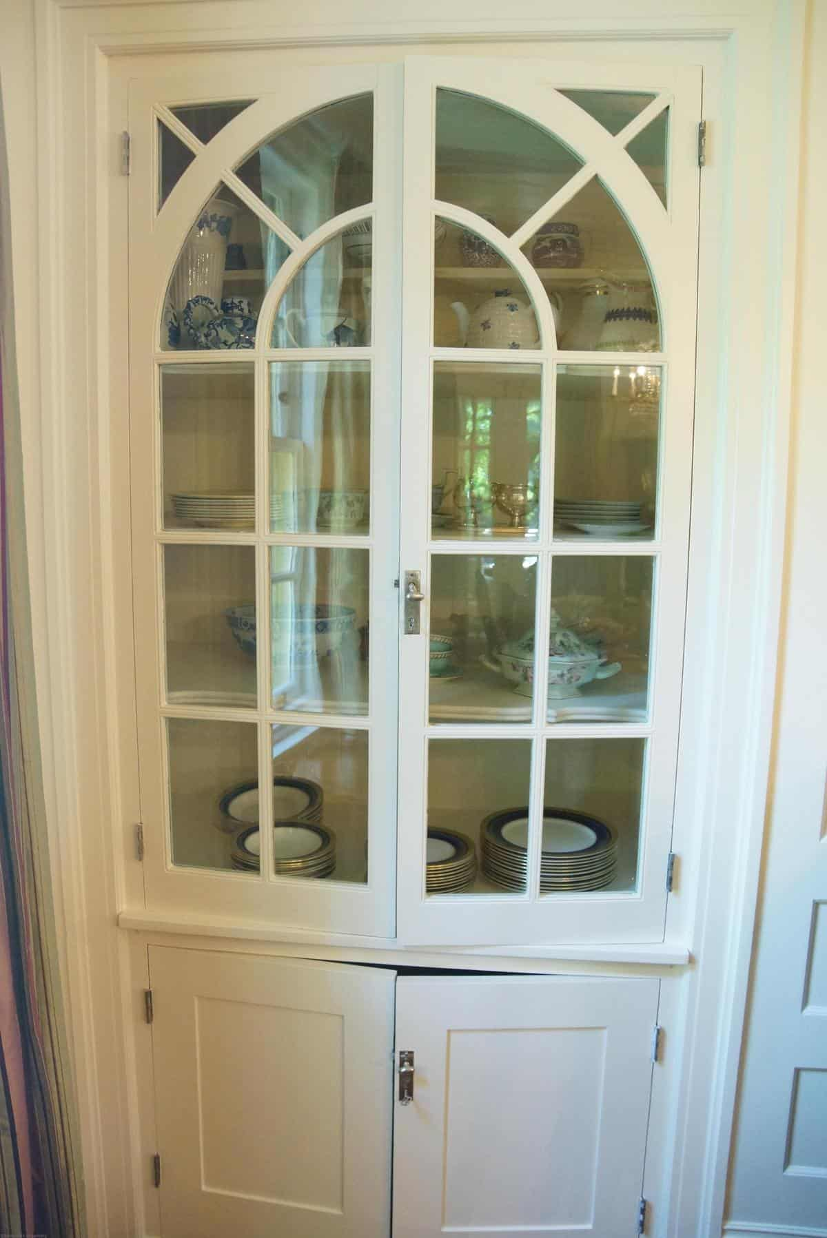 Superieur China Cabinet Before, Doors Closed