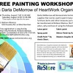 Painting Workshop with Habitat for Humanity ReStore