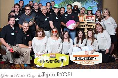 Ryobi team at Haven Conference 2014