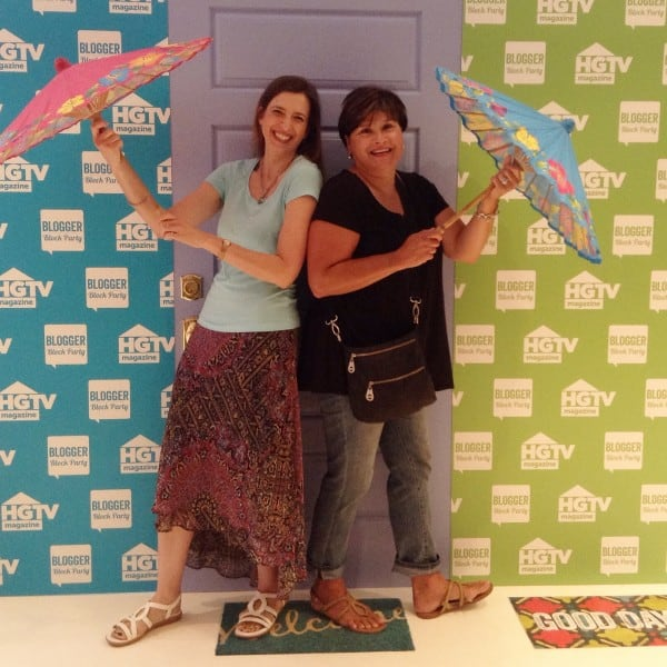 Diane Henkler from In My Own Style at HGTV party
