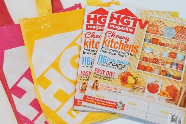 #Giveaway HGTV Magazines