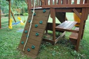 Read more about the article Staining Swing Set with Thompson's WaterSeal Wood Stain