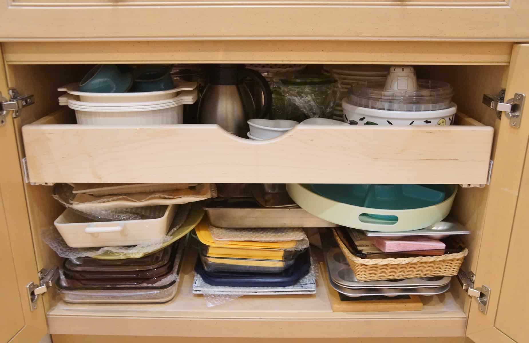 Installing Pull Out Shelves In Kitchen Cabinets Heartwork Organizing Tips For Organizing Your