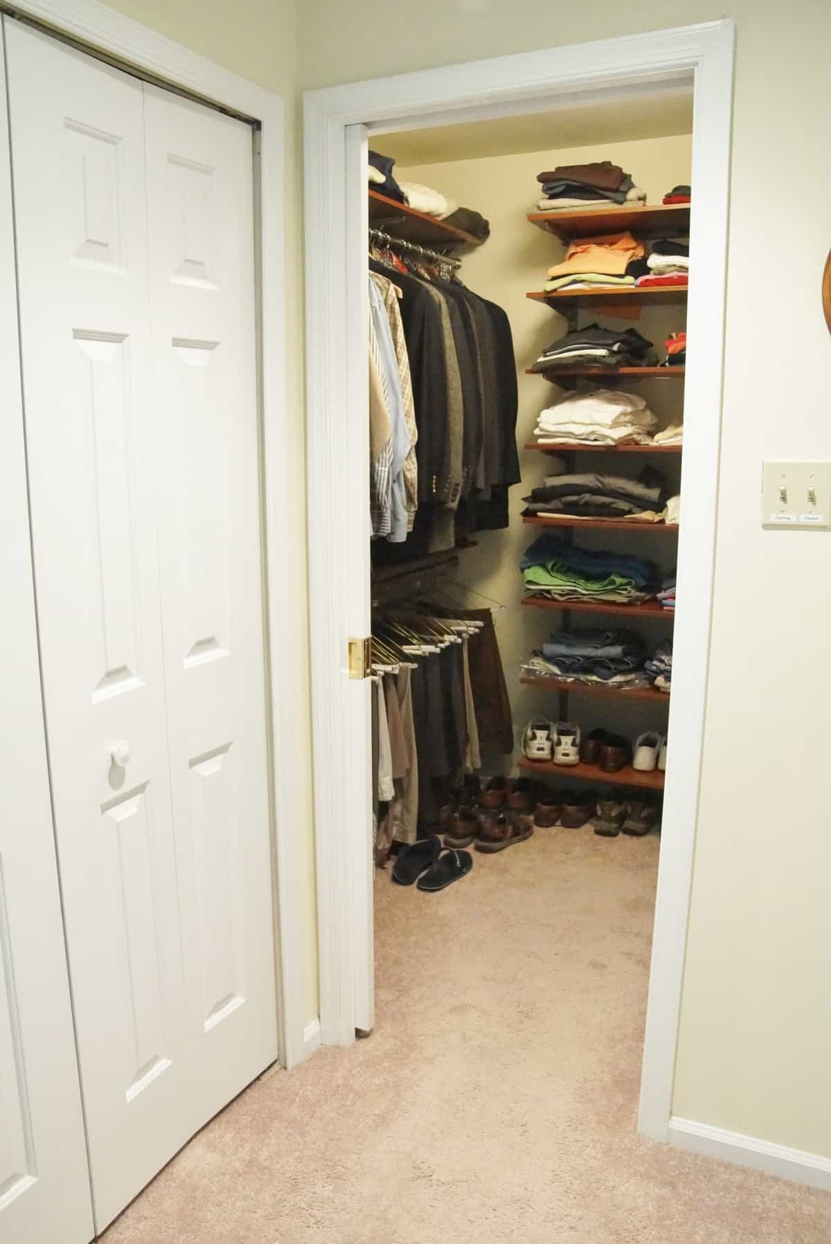 Love Your Closet More With A Pocket Door