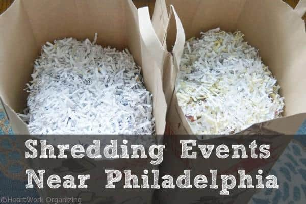 Shredding events near Philadelphia
