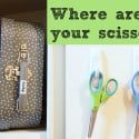 Where Are Your Scissors?