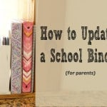 How to Update a School Binder for Parents