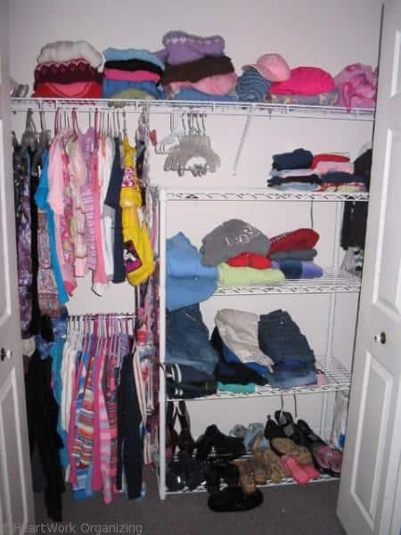 teen bedroom not quite organized yet