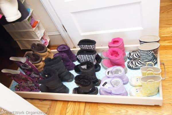 DIY Rolling Boot Tray (6)
