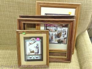 Old frame turns into DIY Jewelry Frame