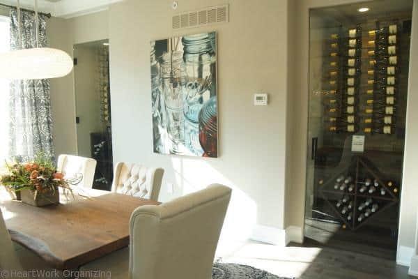 design home dining room wine cellars