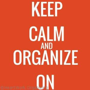 Read more about the article Keep Calm and Organize On