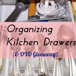 Organizing Kitchen Drawers (& OXO Giveaway)