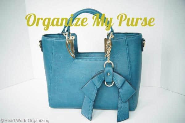 Organize My Purse title
