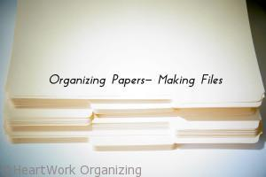Read more about the article Organizing Papers- Making Files