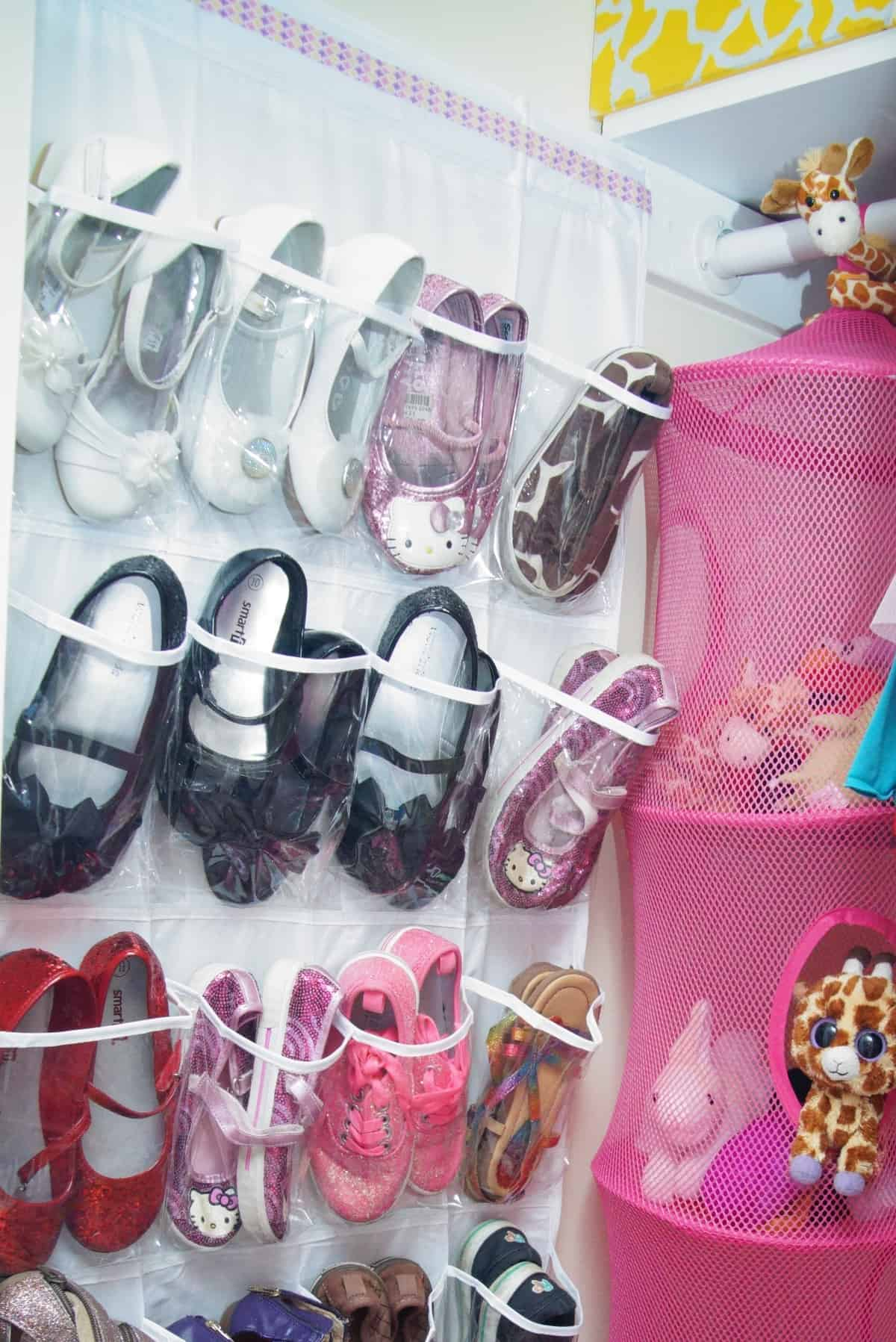 How To Organize Childrens Shoes In A Closet