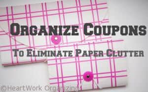 Read more about the article Organize Coupons and Paper