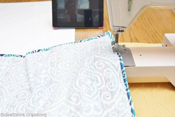 sewing DIY Basket Liners