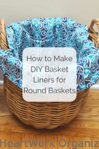 Read more about the article How to Make DIY Round Basket Liners