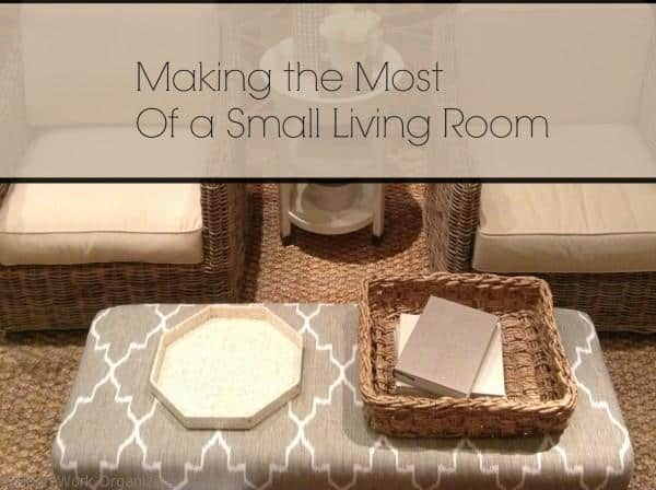 making the most of a small living room