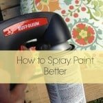 How to Spray Paint Better