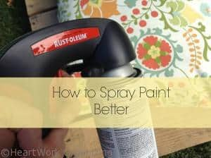Read more about the article How to Spray Paint Better