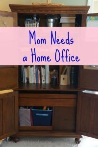 Mom needs a home office