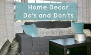 Read more about the article Home Decor Do's and Don'ts