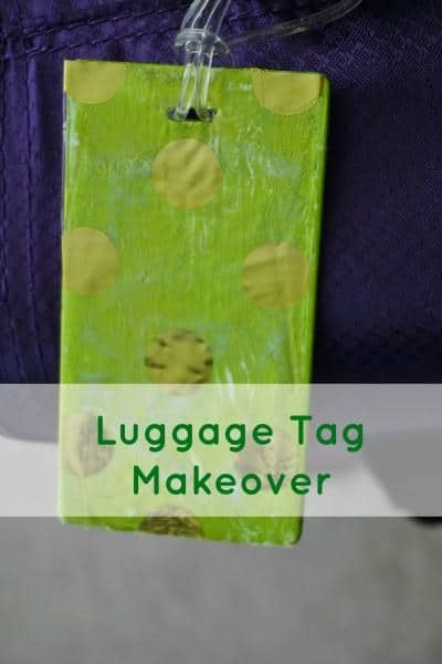 Luggage Tag Makeover