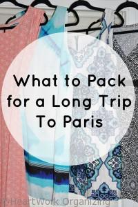 Read more about the article What to Pack for a Long Trip to Paris