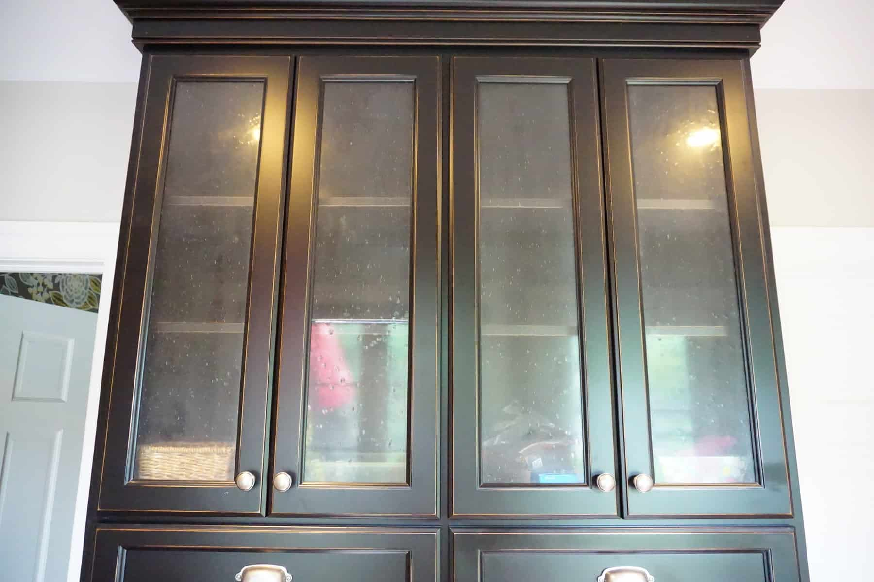 Organizing Glass Front Cabinets Part 49