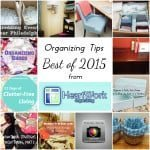 Best of 2015: Organizing Tips