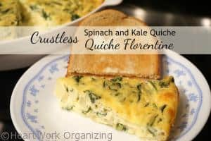 Read more about the article Crustless Spinach and Kale Quiche