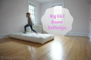 little girl room makeover