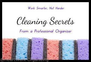 Read more about the article Work Smarter, not Harder. Cleaning Secrets from a Professional Organizer