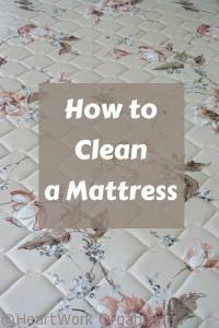 Read more about the article How to Clean a Mattress
