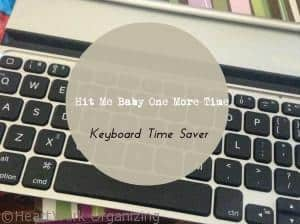 Read more about the article Hit Me Baby One More Time- Time Saver