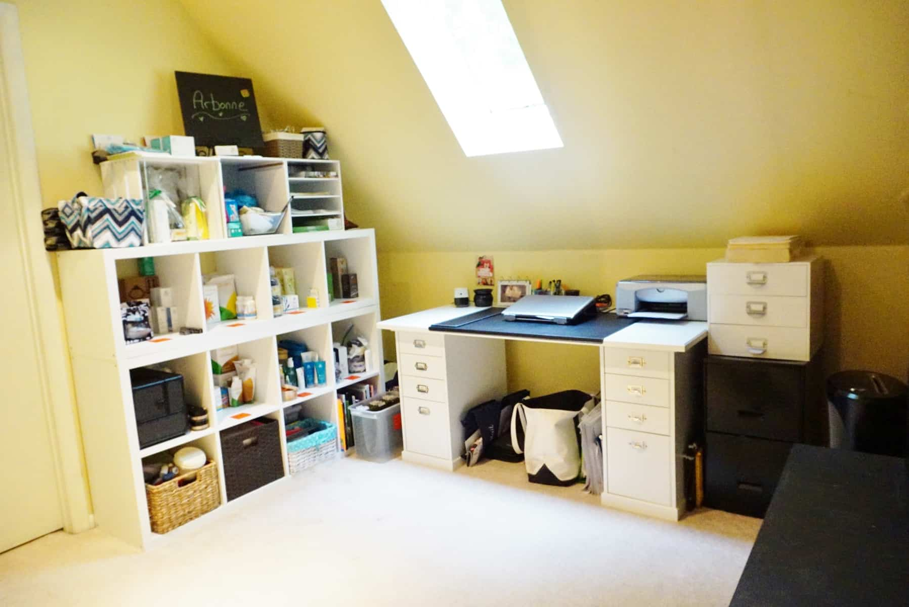 organized home office. Home Office Organizing. Organizing For Arbonne Rep Organized E