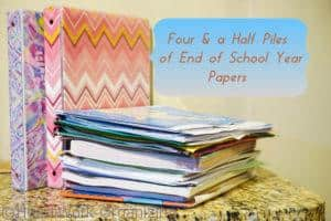 Read more about the article Four and a Half Piles of School Papers