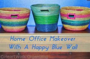 Read more about the article Home Office with a Happy Blue Wall